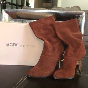 BCBGeneration Suede Mid Calf Boot